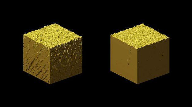 Nanoestructuras de oro para eliminar gases contaminantes