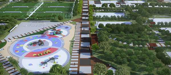 Zonas deportivas para los niños
