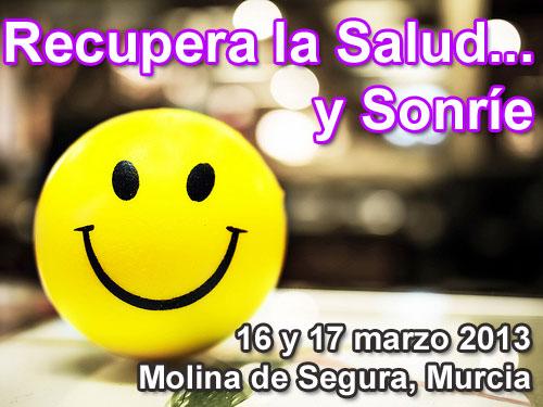 Taller Recupera la Salud y Sonríe Murcia