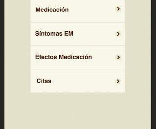 Control EM una aplicación móvil para pacientes con esclerosis múltiple