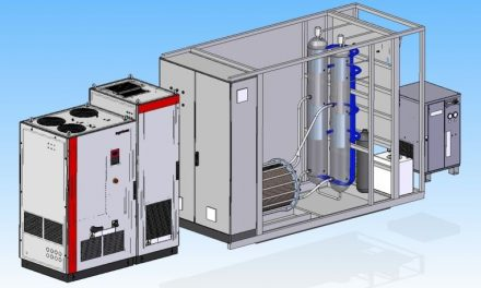 Sistema que permite almacenar energía eléctrica como hidrógeno de forma más eficiente y económica