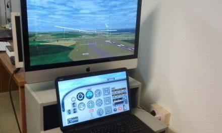 El primer avión solar no tripulado de España vuela de forma virtual sobre Tenerife