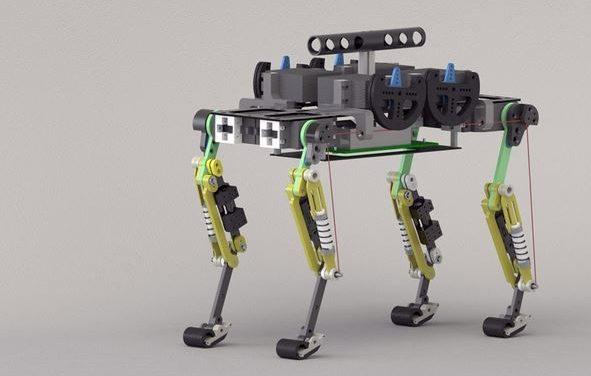 Crean un robot que se mueve como un gato