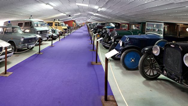 Un museo de coches de cine