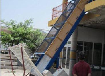 Crean un sistema de protección para evitar golpes en obras