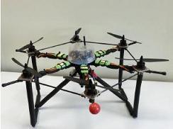 Crean un vehículo aéreo no tripulado para emergencias