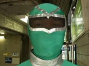 El superhéroe del metro de Tokio