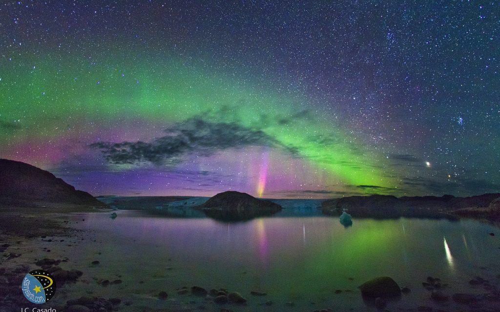 Auroras boreales en directo