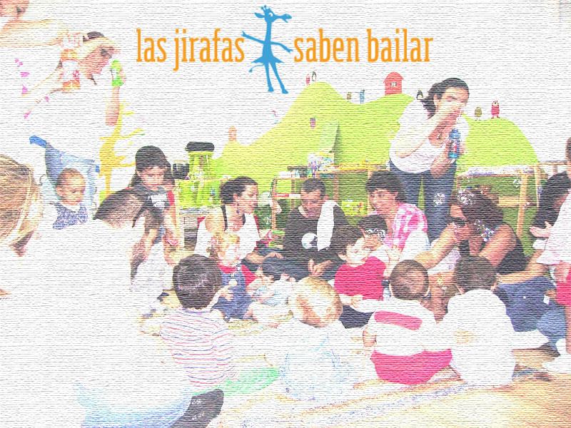 Programación de septiembre de Las Jirafas Saben Bailar