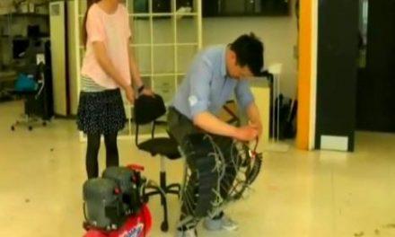Crean un pantalón neumático para facilitar la movilidad de las piernas