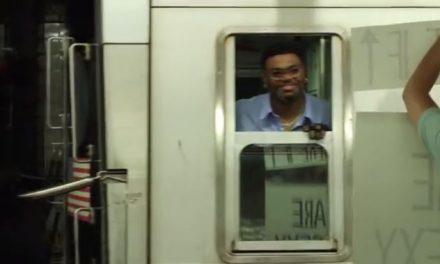 Alegrando el día a los conductores de metro de NYC
