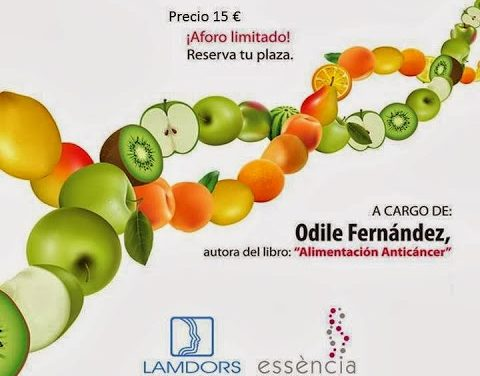 Conferencias Alimentación y Cáncer Noviembre 2013