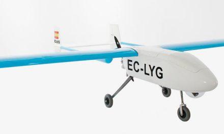 Crean en España el primer drone civil de Europa