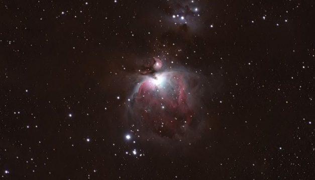 Zoom óptico real a la nebulosa de Orión