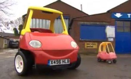 Crea un coche de niños… pero para mayores