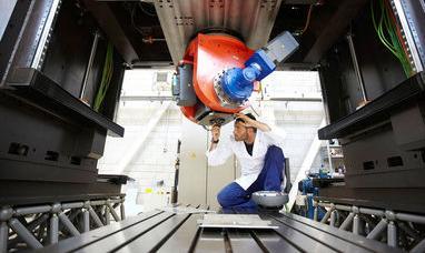 Desarrollan máquinas herramienta un 40% más ligeras