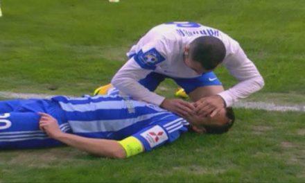 Le salvó la vida a su rival