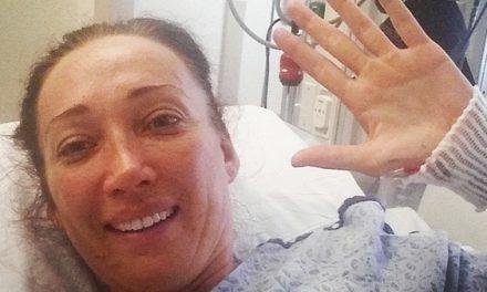 Nadadora olímpica queda paralizada tras un accidente y decide mantenerse positiva