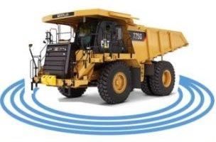 Sistema de radares para eliminar los ángulos muertos de vehículos de construcción