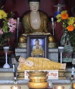 Cae el crimen en picado en un barrio de Okland desde que un vecino instaló una estatua de Buda