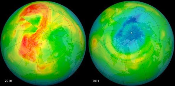 La capa de ozono comienza a recuperarse