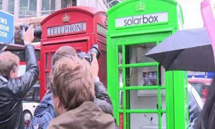 Del rojo al verde: algunas de las cabinas telefónicas de Londres se eco-transforman