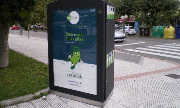 Experiencia piloto de recogida de pilas y baterías usadas en Minipuntos Limpios de Asturias