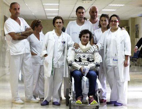 La valentía de Teresa Romero