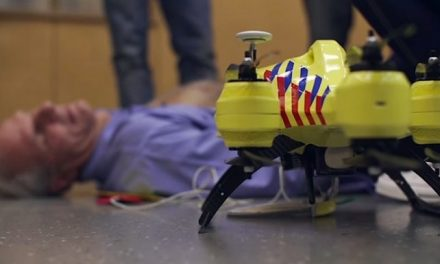 Ambulancia Drone para salvar vidas