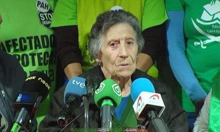 Carmen con 85 años tendrá una vivienda de por vida gracias al Rayo Vallecano