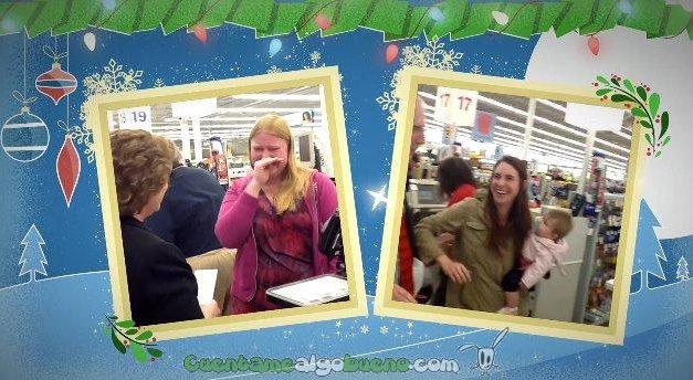 ¿Cómo reaccionarías si tus compras de Navidad fueran gratis?