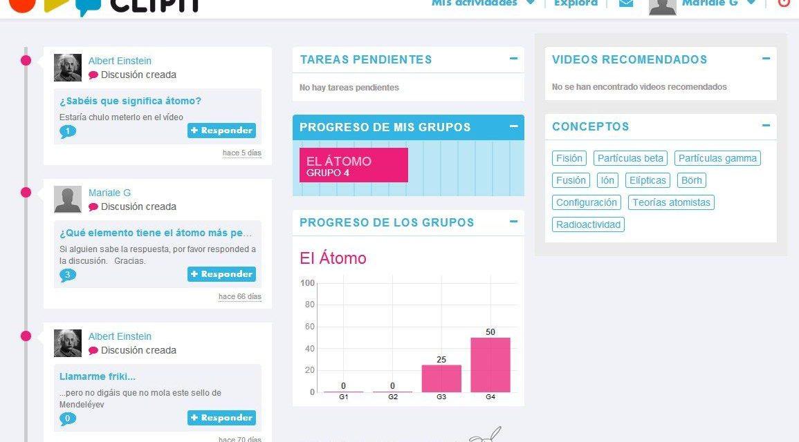 Clipit: nueva red social educativa que fomenta el aprendizaje basado en vídeo