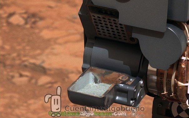 Se confirma la presencia de compuestos orgánicos en Marte