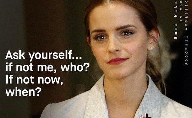Conmovedor discurso de Emma Watson por la igualdad de hombres y mujeres