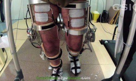 Crean un exoesqueleto neurorrobótico para pacientes con lesión medular