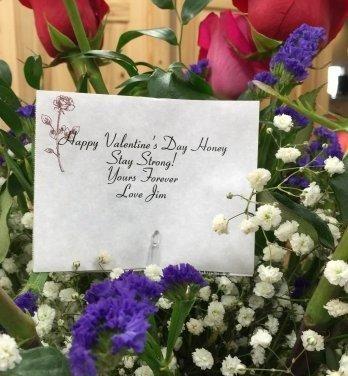 Encarga que le manden flores por cada San Valentín a su mujer antes de morir