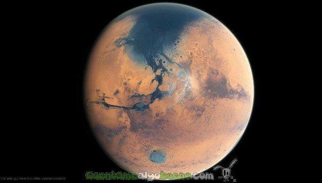 Descubren que el planeta Marte tuvo un océano tan extenso como el Atlántico
