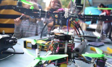 Presentan en la UPCT el dron comercial más grande de Europa