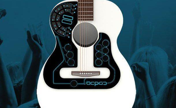 Primer controlador MIDI inalámbrico para guitarra acústica