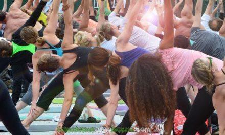¡Feliz Primer Día Internacional del Yoga!