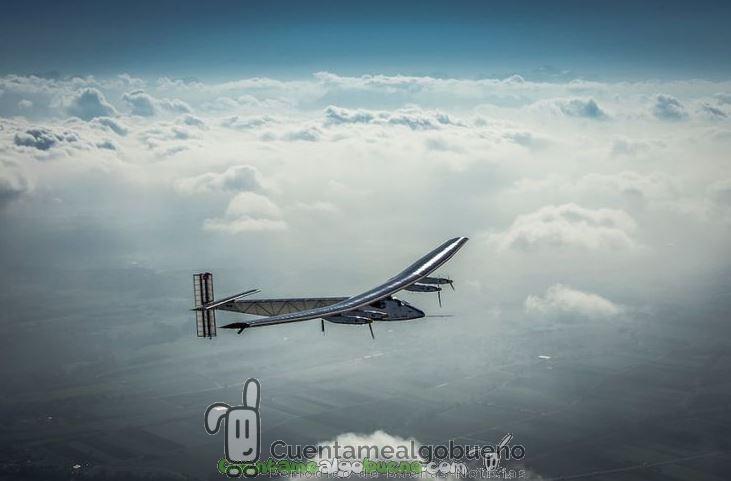 El avión Solar Impulse 2 prosigue su vuelta al mundo