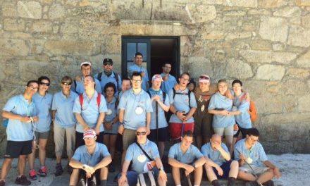 Los 16 jóvenes con síndrome de Down que finalizaron el Camino de Santiago