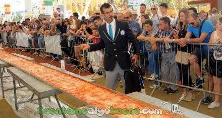 Hacen en Italia la Pizza más grande del mundo