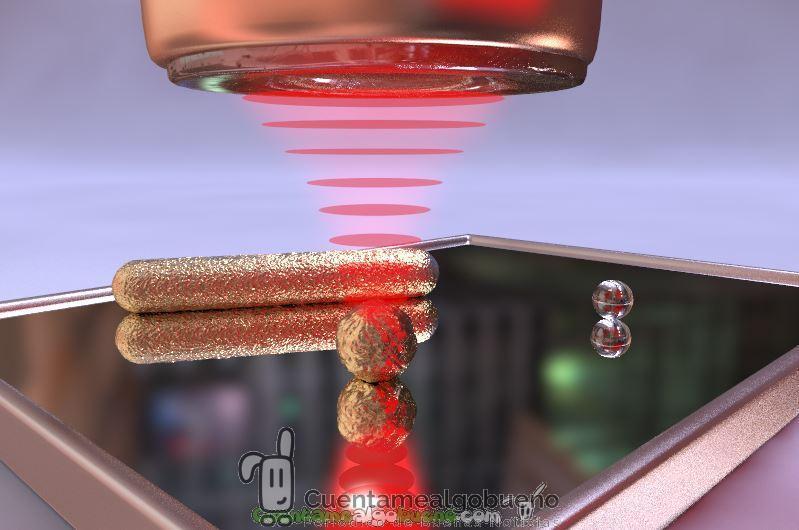 Crean un microscopio que permite analizar partículas nanométricas