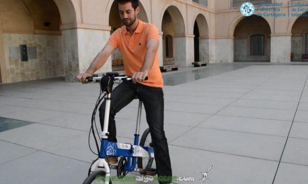 Ingenieros de la UPCT crean una bicicleta eléctrica plegable