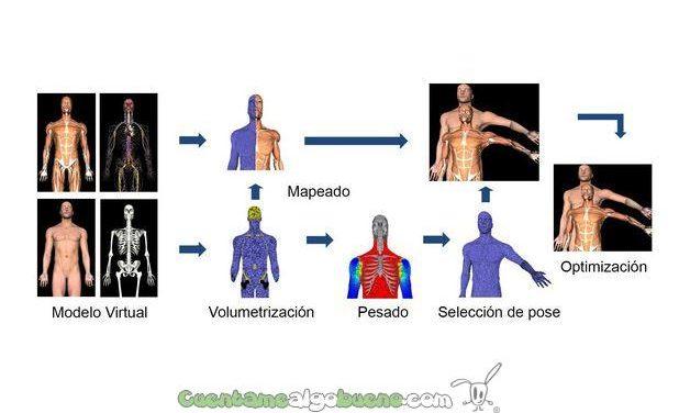 Desarrollan una técnica de entrenamiento sanitario que simula posiciones anatómicas de pacientes
