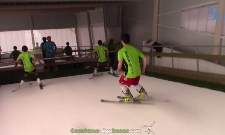 Crean en Granada un Simulador de Esquí que permite aprender a esquiar sin pisar la nieve