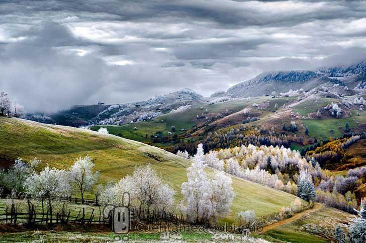 Bonito paisaje, por Eduard Gutescu