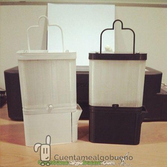 Inventan en Filipinas una lámpara ecológica que funciona con agua y sal