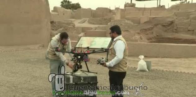 Drones guardianes del patrimonio arqueológico